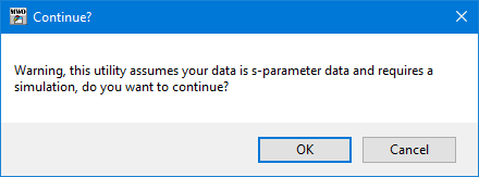 Importing S-Parameter Data - Help - AWR Knowledgebase