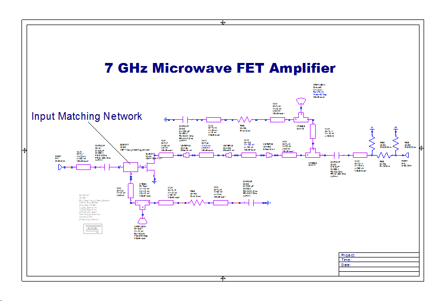 7ghz Amplifier Examples Awr Knowledgebase